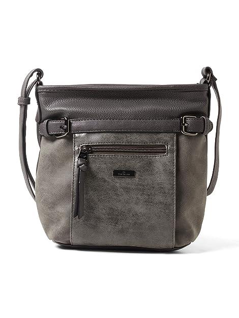 TOM TAILOR für Frauen Taschen & Geldbörsen Umhängetasche Juna grey, OneSize