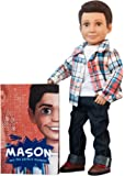 Boy Story Mason Doll Action Pack - 18 inch Ball Jointed Boy Doll with Book