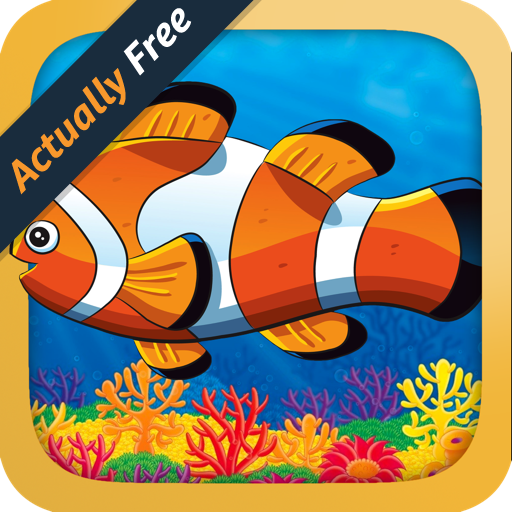 Fish Dot - Ocean Life - Dot To Dot for Kids and Toddlers - Number Learning Game