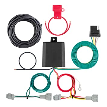 curt 56397 vehicle side custom 4 pin trailer wiring harness for select nissan rogue sport Nissan Starter