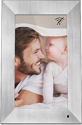 NIX Lux 13 Inch Digital Picture Frame Silver
