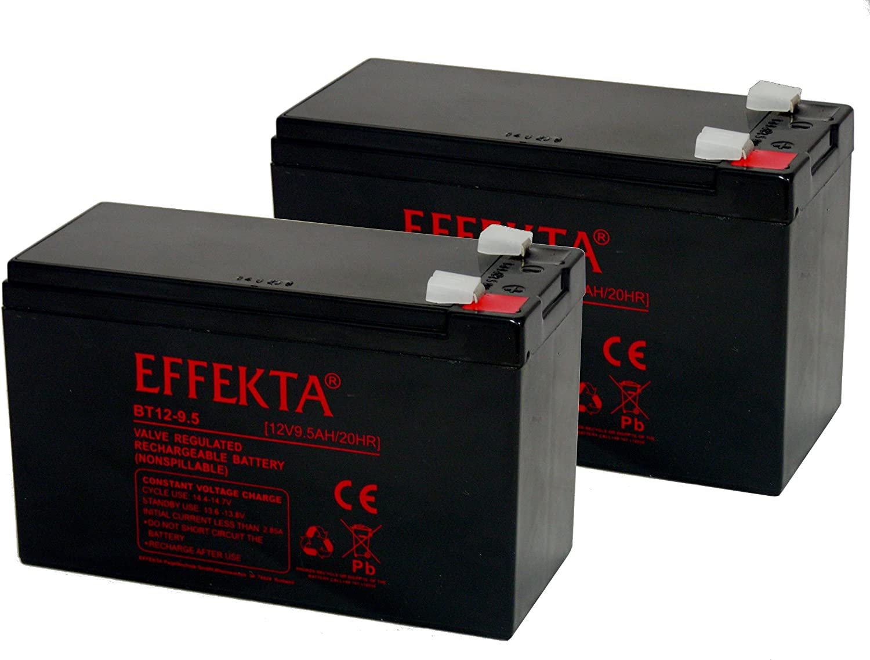 Batería compatible Tante Paula Scooter–Patinete eléctrico (24V, 2x 12V 9,5Ah AGM plomo