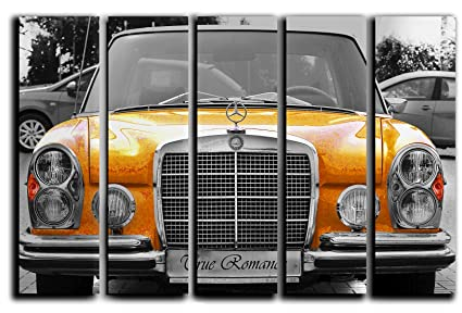 Amazon.com: Vintage Mercedes-Benz Sedan Wall Art Picture Decor on ...