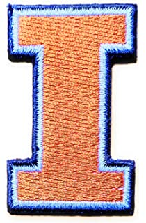 Univeristy Of Illonois Sports Team Iron On Patch