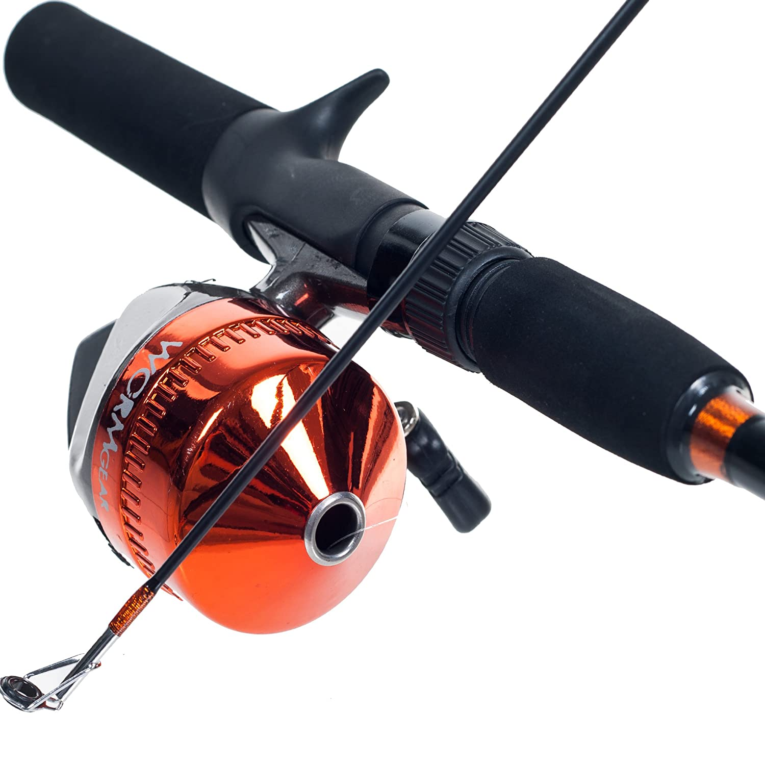 Amazon.com : South Bend Worm Gear Fishing Rod and Spincast Reel ...