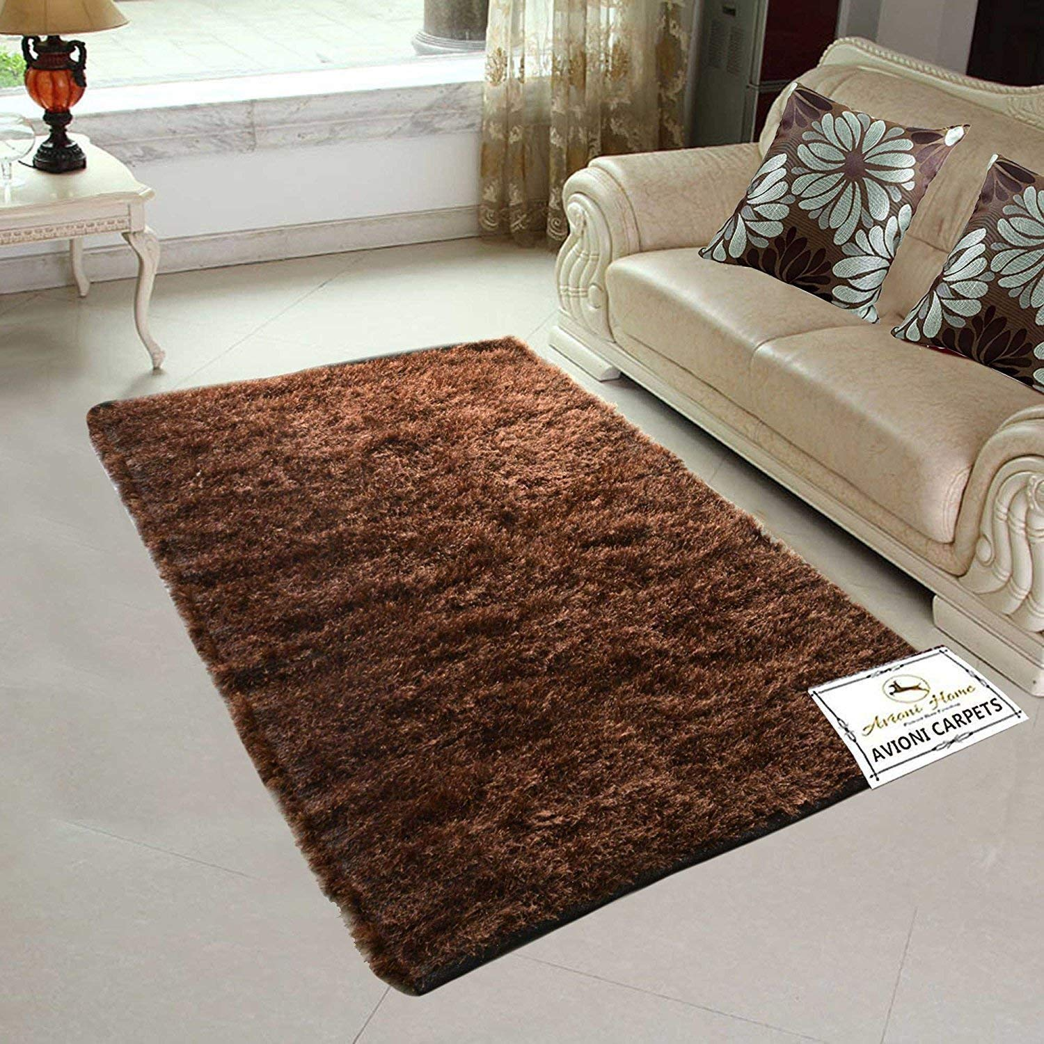 Amazon.com: Avioni Handloom Rugs Carpets for Living Room in ...