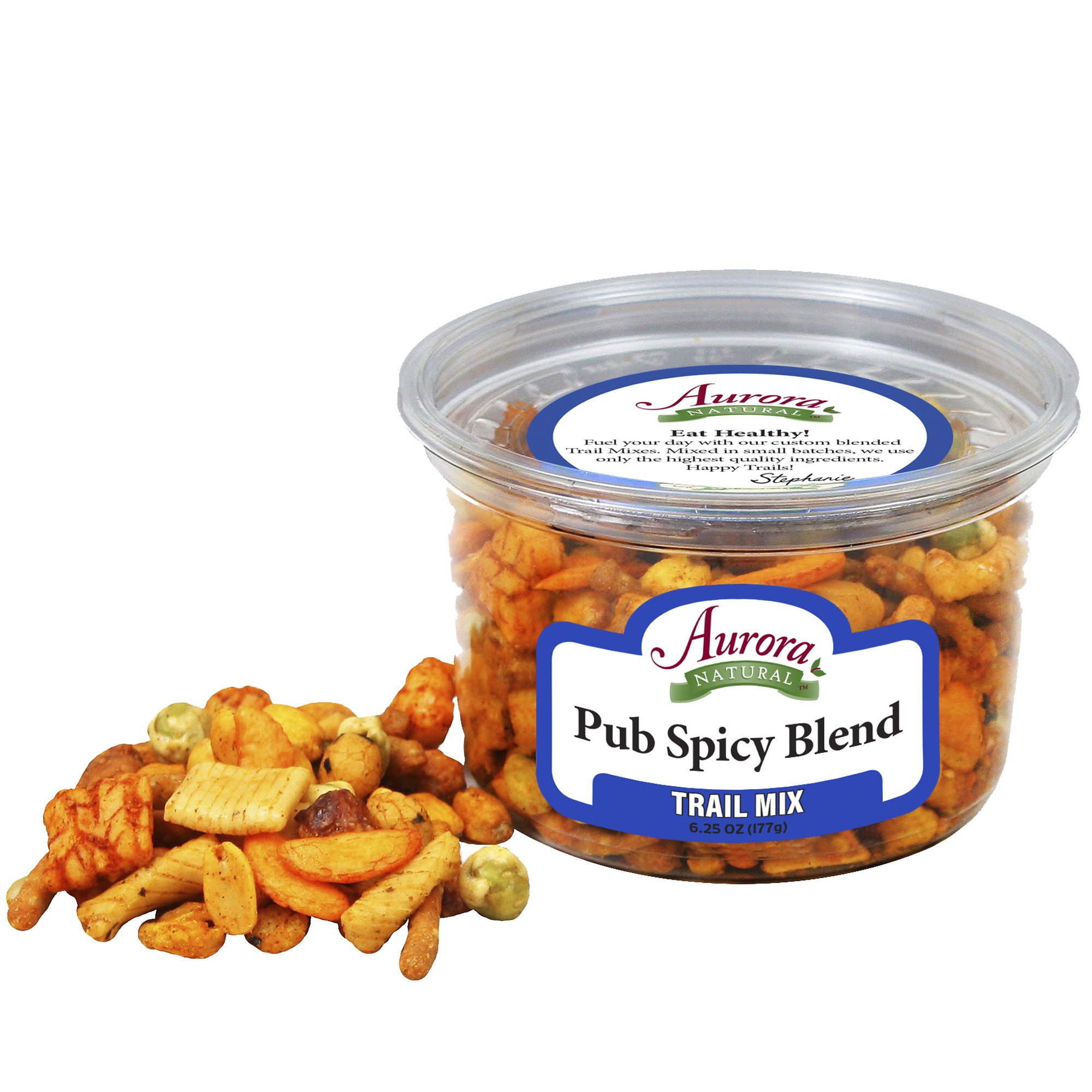 Aurora Natural Products Pub Spicy Blend, 6.25 Ounce (Pack of 12)