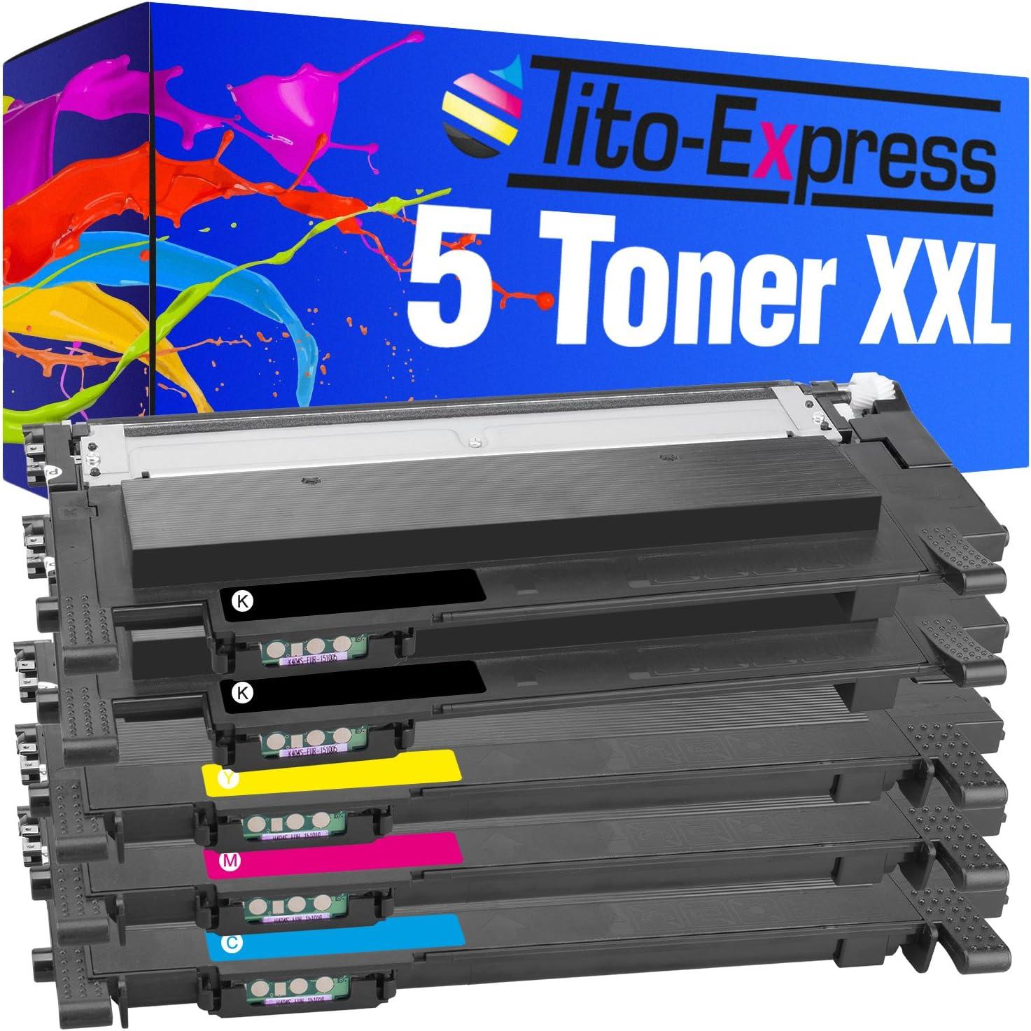 Tito Express Platinum Series Laser Toner Cartridge Xxl Compatible With Clt 404s Bürobedarf Schreibwaren