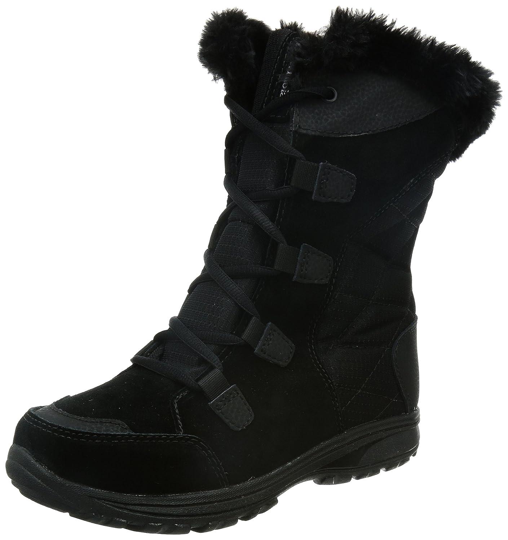 Columbia Women's Ice Maiden II Snow Boot B00GW97YXE 9.5 B(M) US|Black, Columbia Grey