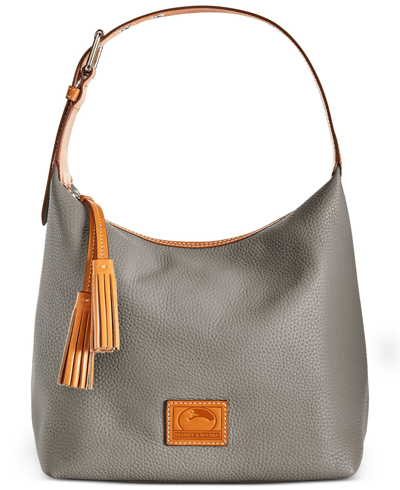 Dooney & Bourke Paige Sac Leather Hobo (Taupe)
