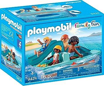 PLAYMOBIL- Patinete Juguete, Multicolor (geobra Brandstätter 9424)