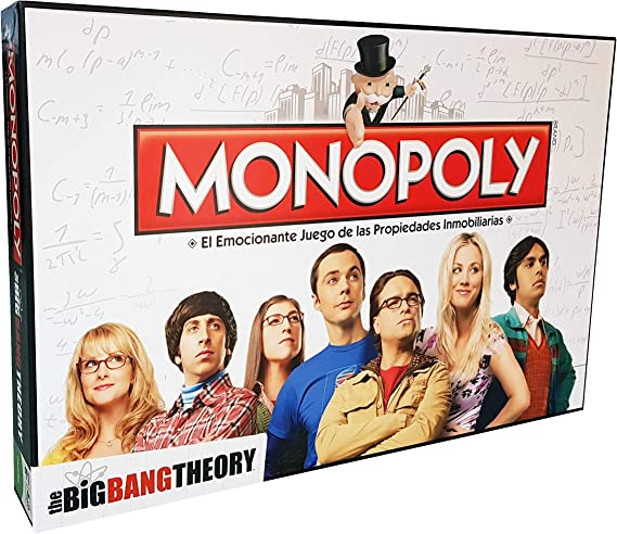 Monopoly The Big Bang Theory (Edición en Castellano): Amazon.es: Juguetes y juegos