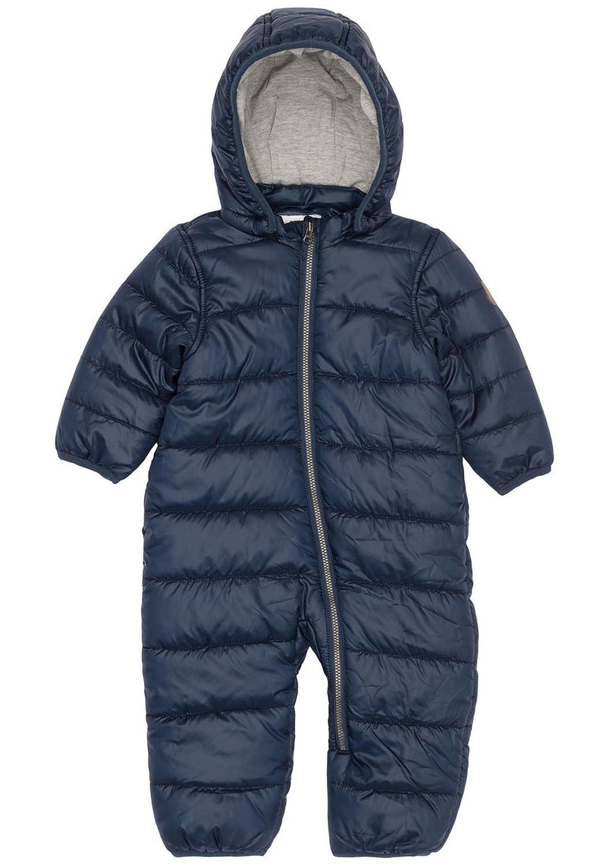 NAME IT Baby Jungen Schneeanzug Blau Dress Blue NitMaldo Newborn Gefüttert Overall 13143843