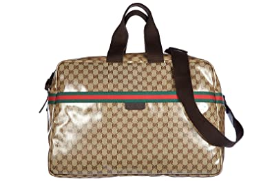 Amazon.com: Gucci Duffle de Viaje Weekend bolsa de hombro ...