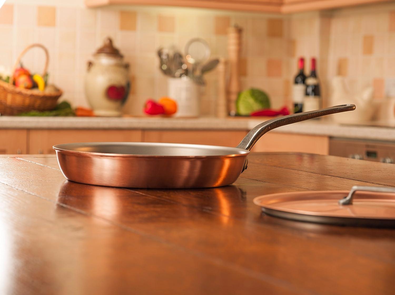 Sartén de Falk Culinair, de 28 cm, con mango de hierro fundido e interior de acero inoxidable: Amazon.es: Hogar