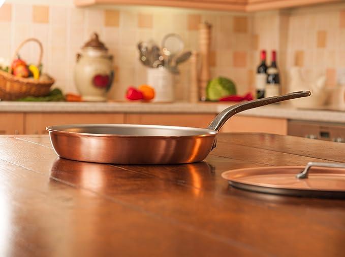 Sartén de Falk Culinair, de 28 cm, con mango de hierro fundido e ...
