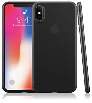coque transparente noir iphone x