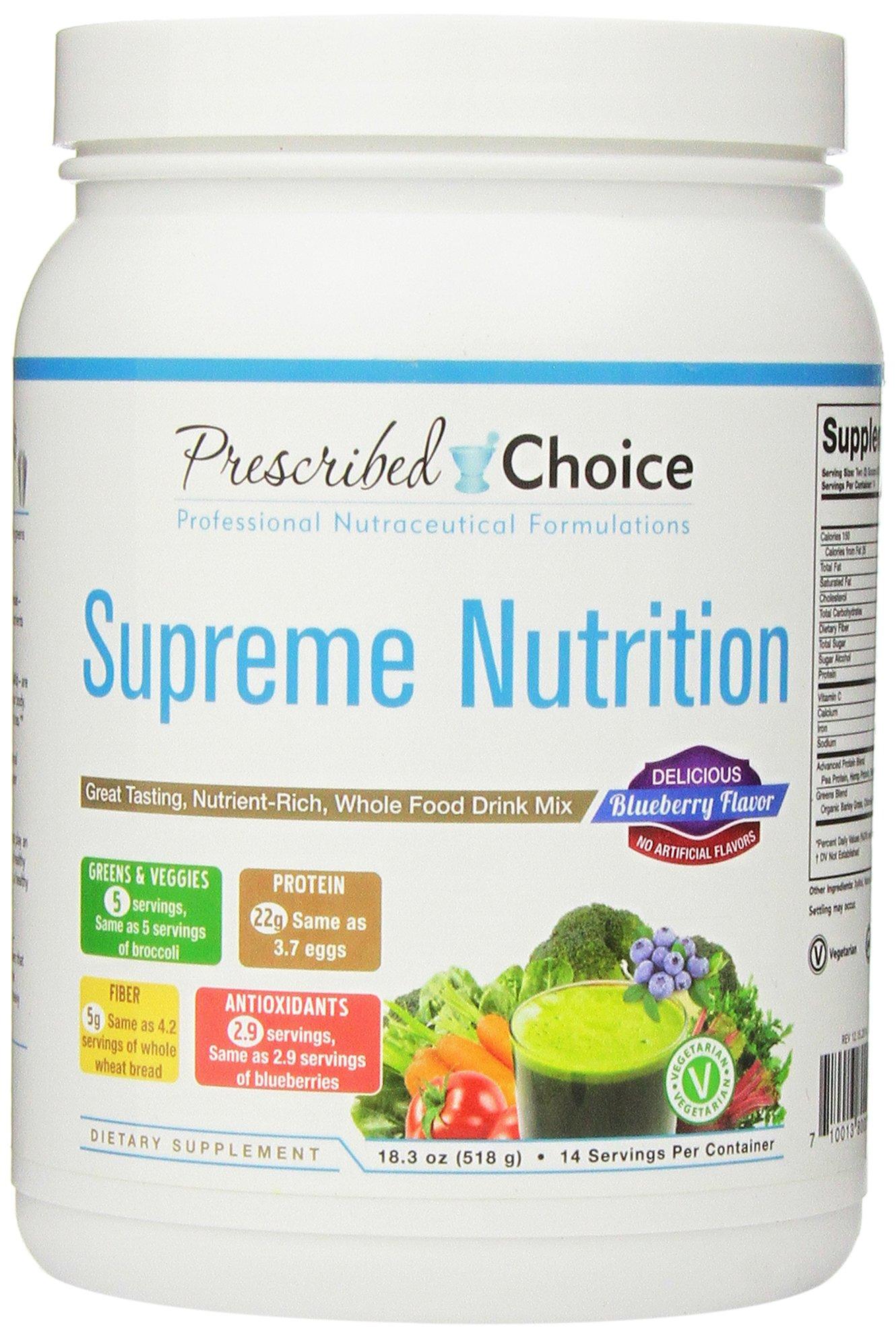 Prescribed Choice Supreme Nutrition, 518 Gram