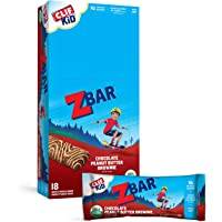 Clif Kid Z Bar Chocolate Peanut Butter Brownie, 18 Count