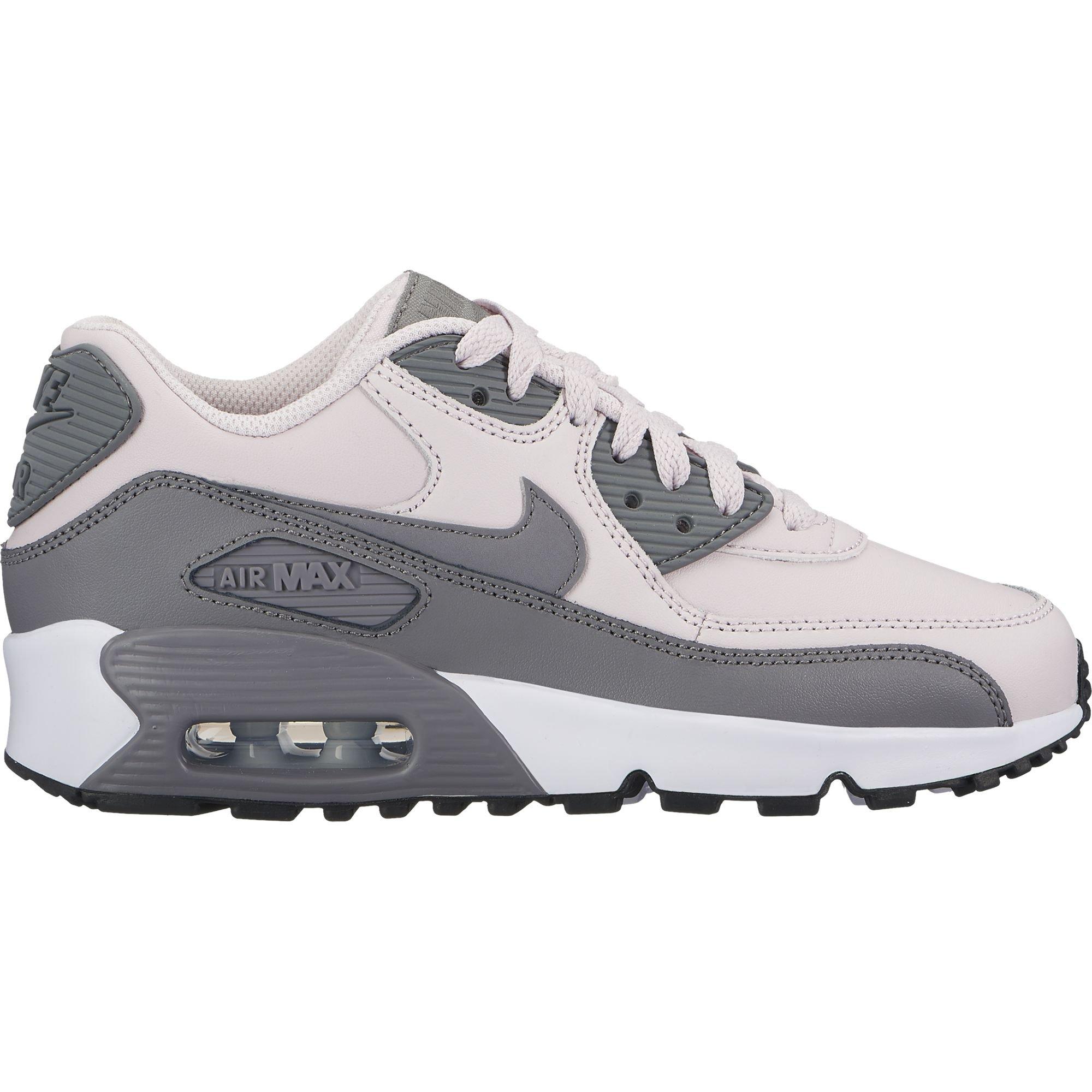 125fedb5a5 Galleon - Nike Air Max 90 LTR Girl's Shoe, Barely Rose/Gunsmoke-White-Black,  7Y