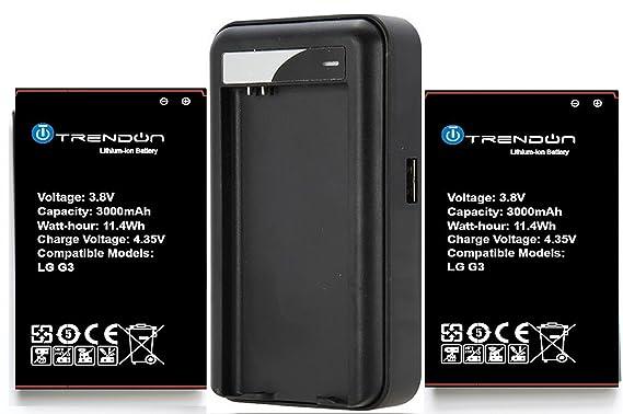 Amazon.com: [2 baterías + cargador] [larga duración ...