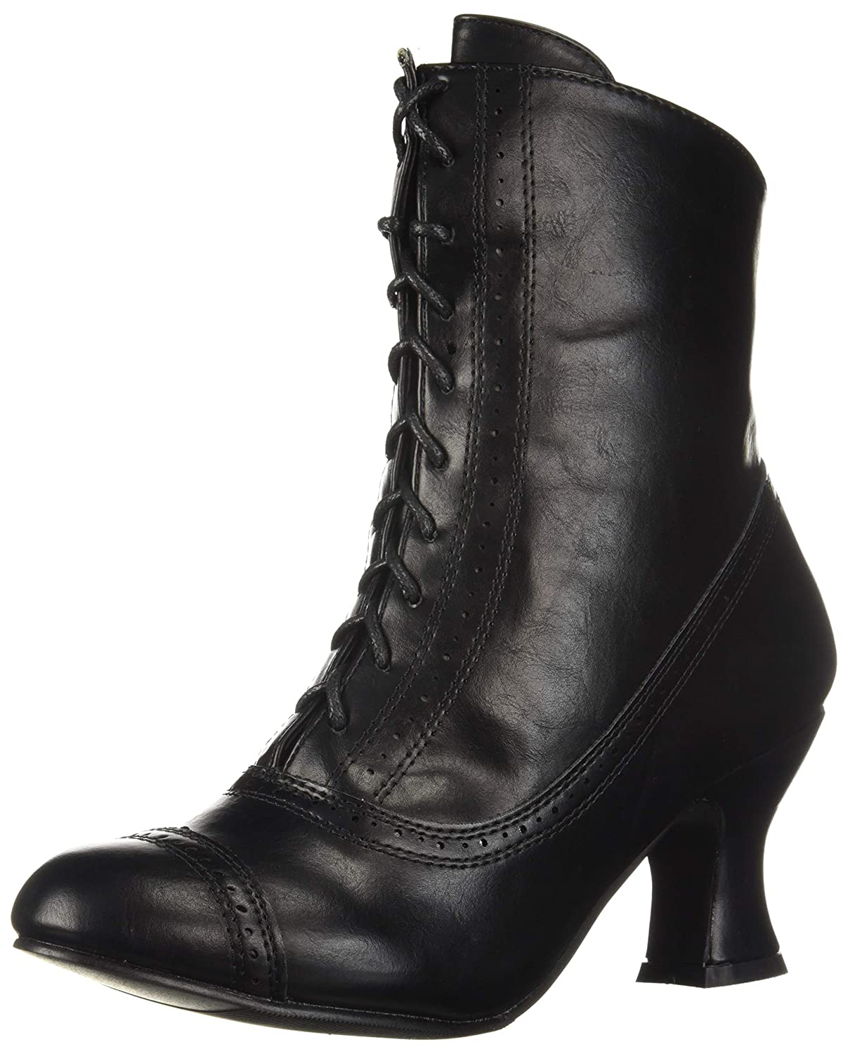 Steampunk Costume Essentials for Women UK- Ellie Shoes Womens 253-sarah Mid Calf Boot £43.09 AT vintagedancer.com