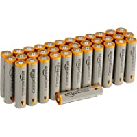 36-Count AmazonBasics AAA 1.5 Volt Performance Alkaline Batteries