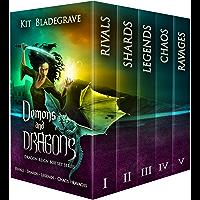 Demons and Dragons: Dragon Reign Box Set Series Books 1-5 (English Edition)