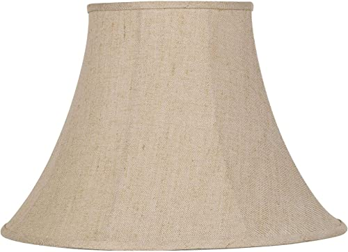 Ivory Bell Linen Lamp Shade 9x19x12.5 Spider – Springcrest
