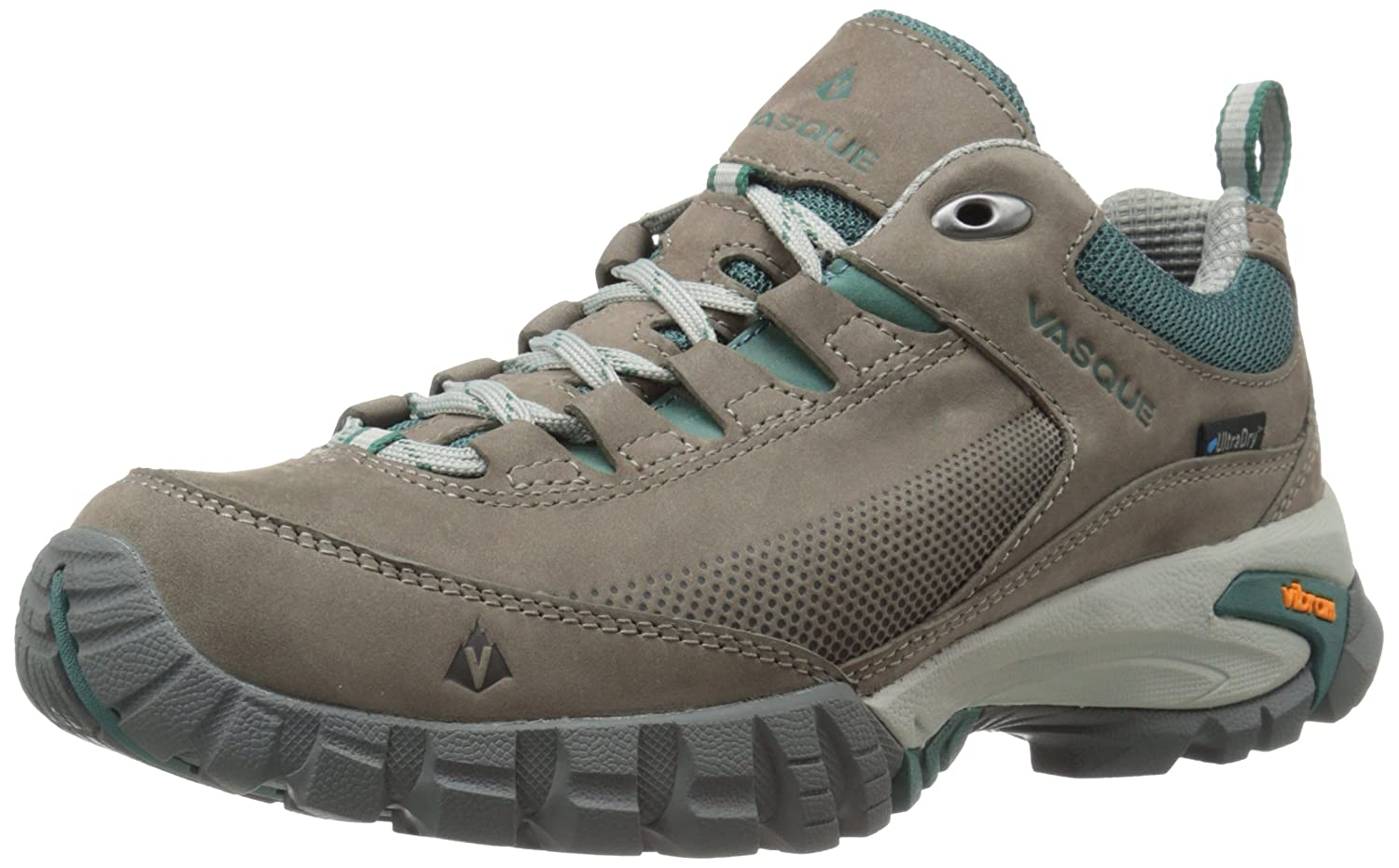 Vasque Women's Talus Trek Low UltraDry Hiking Shoe B00TYK05PC 8 B(M) US|Gargoyle/Jasper