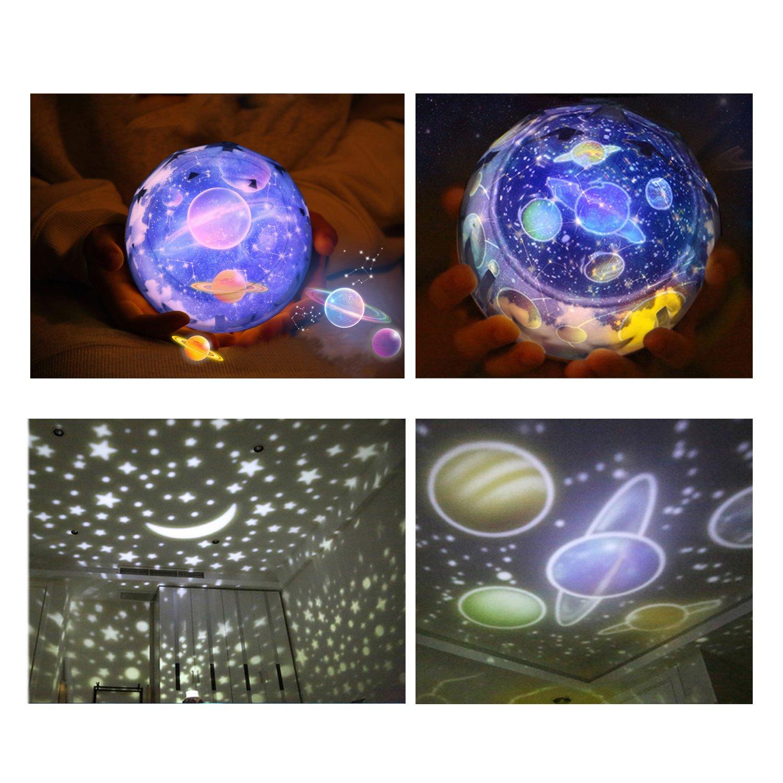 Star Night Light Universe Night Light