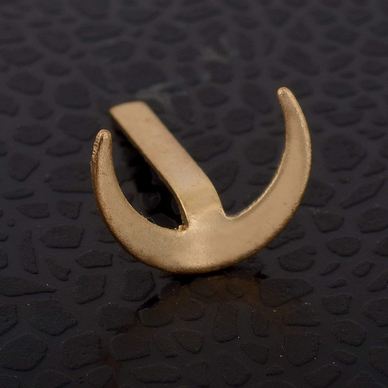 DzineTrendz Copper Maratha Chandra KOR Bindi Teeka Tool, Marathi,  Maharashtrian Pooja Article