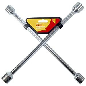 Am-Tech 4 Way Wheel Wrench