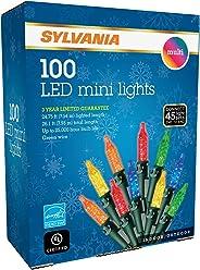 SYLVANIA LED Mini Christmas Lights, Multi
