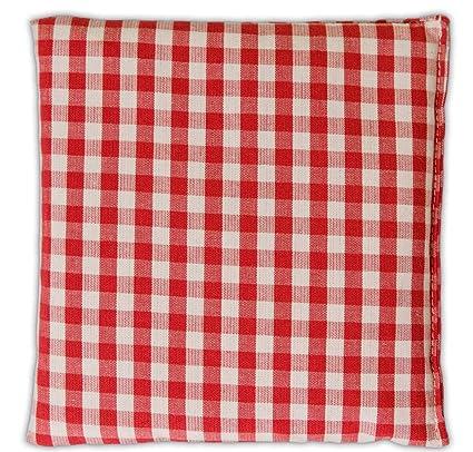 Saco térmico 12x12cm rojo y blanco | Almohadilla térmica ...