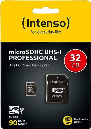 Intenso Professional Microsdhc Uhs I Class 10 32gb Computer Zubehör