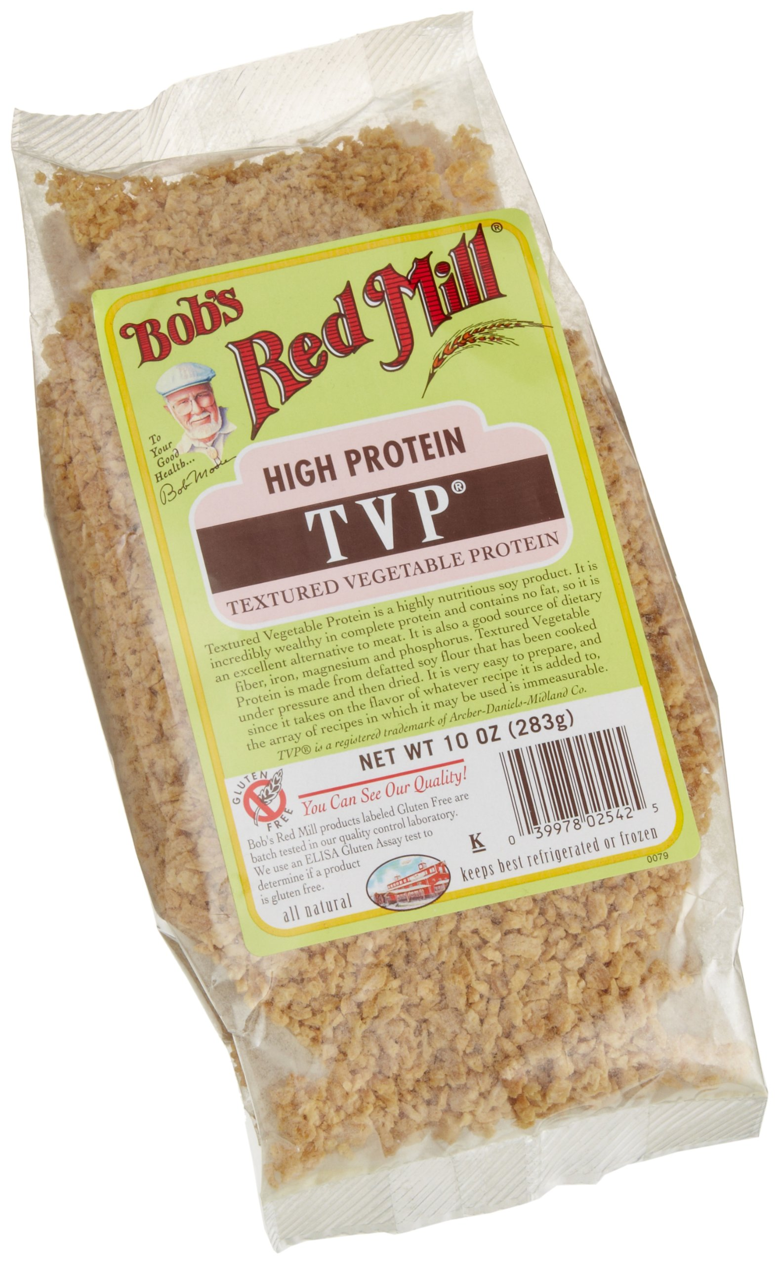 Bob's Red Mill Textured Vegetable Protein, 10 Ounce (Pack of 4) by Bob's Red Mill (Image #2)