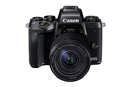 Canon EOS M5 Mirrorless Camera + EF-M 18-150 mm