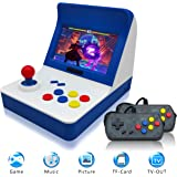 "Retro Game Console Classic Retro Video Game Player Portable Game Console 16GB 4.3"" Full View TFT Screen 3000 Classic Games ,Support Transplant games /Arcade games/CP1/CP2/GBA/SFC/MD By YLM"