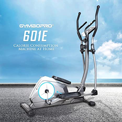 Pro Cross Trainer 2-in-1 Fitness Elliptical Exercise Bike Home Workout Machine