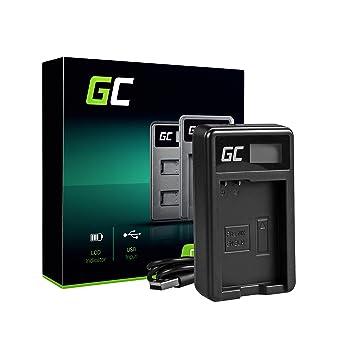 Green Cell® MH-24 Cargador para Nikon EN-EL14 Batería y D3100 D3200 D3300 D3400 D5100 D5200 D5300 D5500 D5600 Coolpix P7000 P7100 P7700 P7800 Cámaras ...