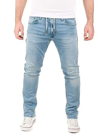 WOTEGA Herren Jeans - Sweathose in Jeansoptik Noah - Slim  Amazon.de   Bekleidung 85f6d521f8