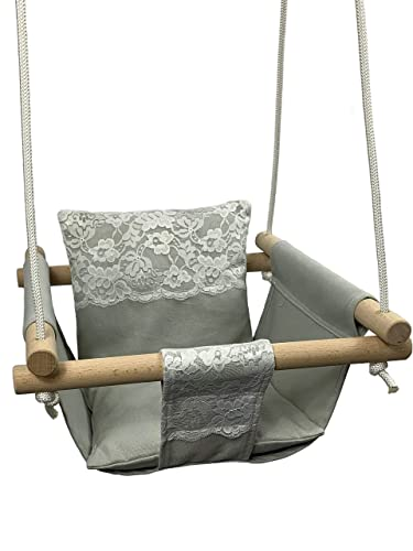 Baby Cotton Canvas Swing Chair