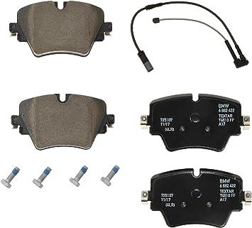 Amazon Com Front Brake Pad Set Wear Sensor Kit Genuine For Bmw F48 X1 Xdrive28i Sdrive28i Automotive