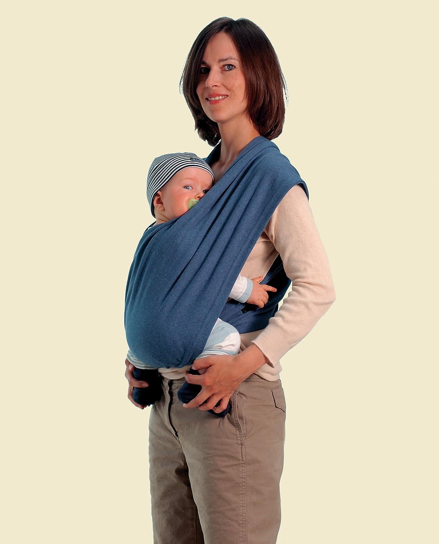 Amazonas - Echarpe de portage - Carry Baby Bleu  Amazon.fr  Bébés    Puériculture dce997e88a8