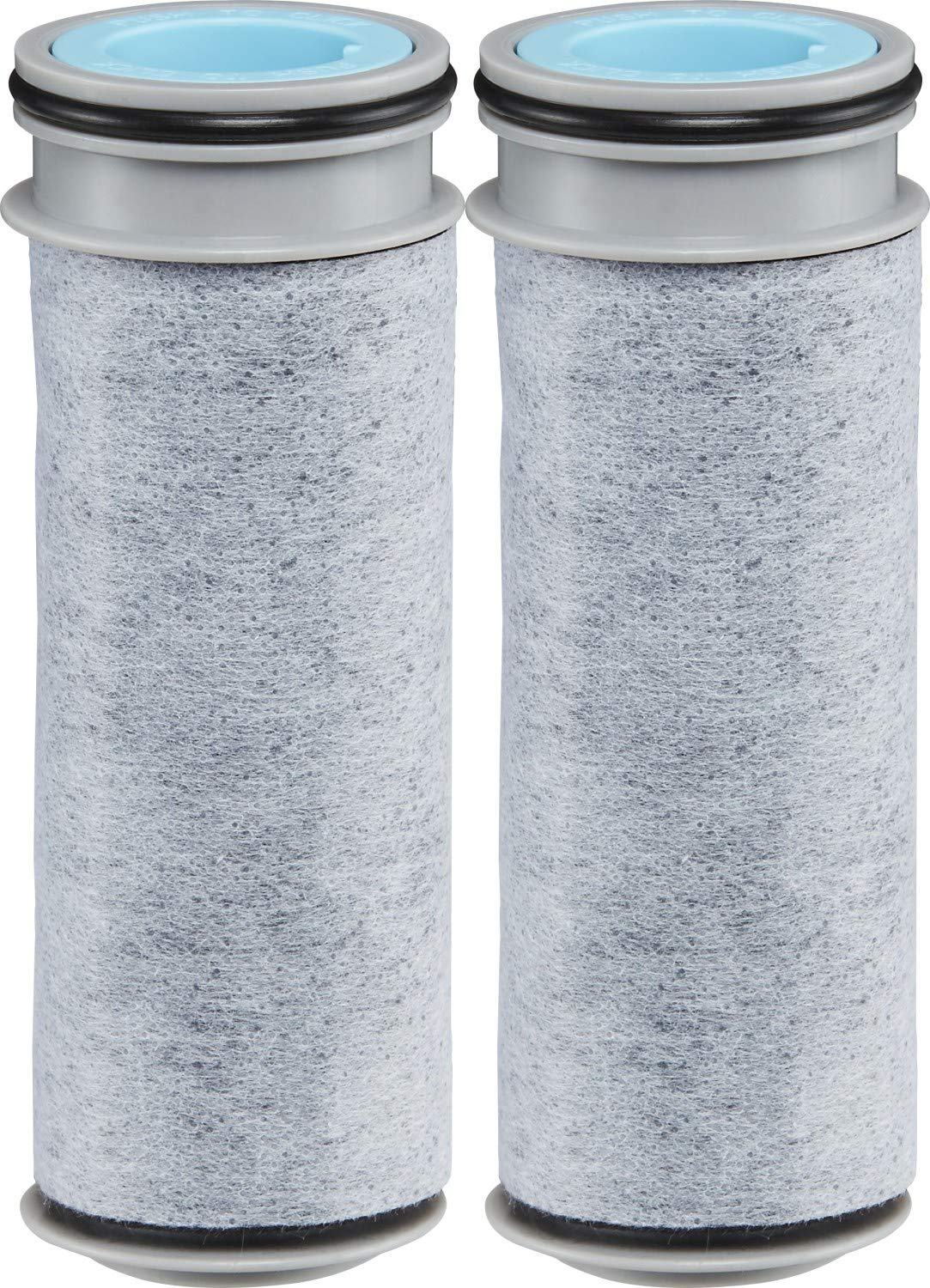 Brita Stream Pitcher and Dispenser Replacement Water Filters, 2 Count, Gray