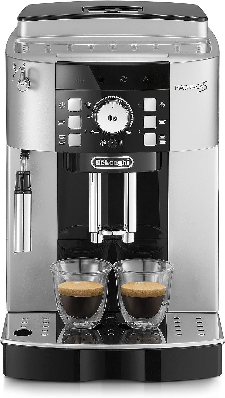 De'Longhi ECAM 21.117.SB Máquina espresso, 1450 W, 1.8 litros, plástico, Plateado/Negro