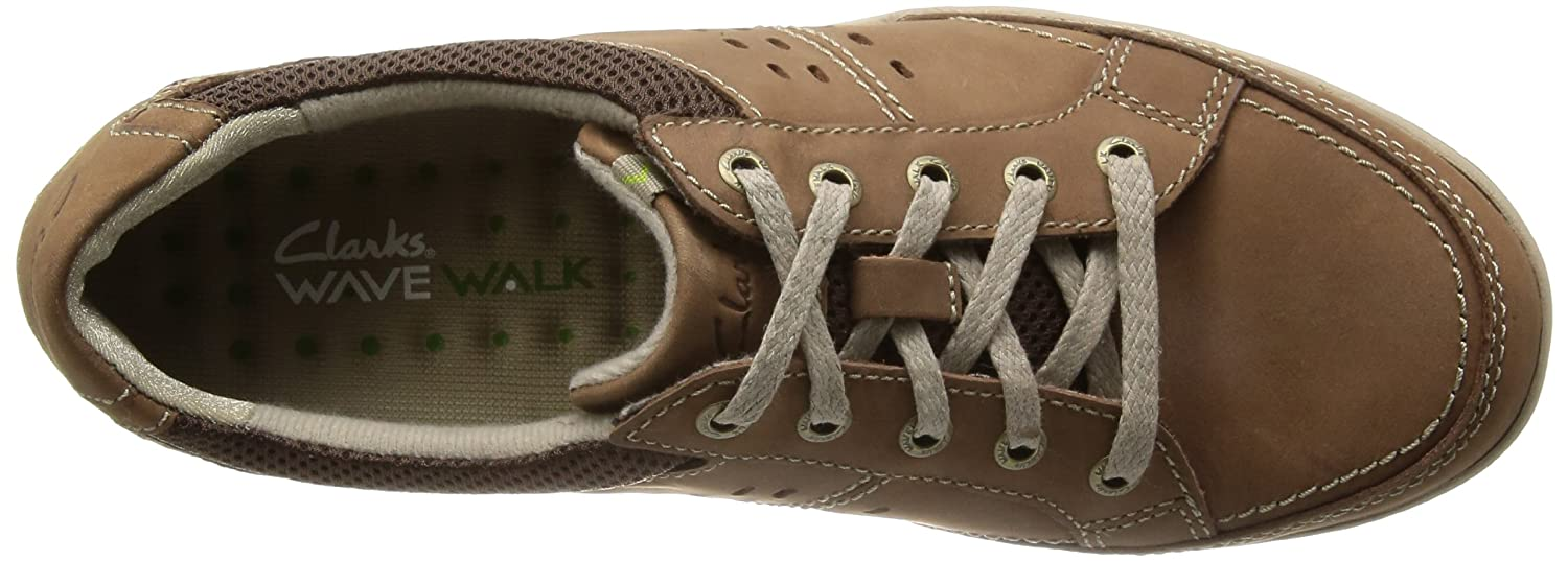 Clarks Mens Casual Wavecamp Path Nubuck Shoes In Tobacco: Amazon.co.uk:  Shoes & Bags