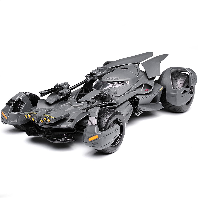 Jada Batmobile und Batman Justice League mit Figur 1//24 Modell Auto mit individiuellem Wunschkennzeichen