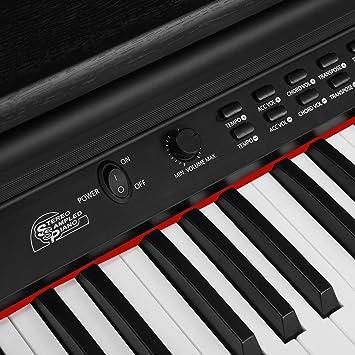 amazon com lagrima 88 key home digital console upright piano